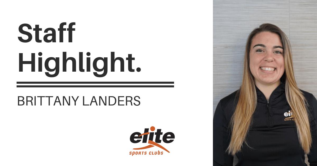 Staff Highlight - Brittany Landers