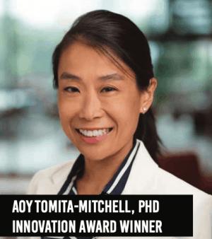Aoy Tomita-Mitchell - Winner of 2019 Women of Influence Award - Innovation