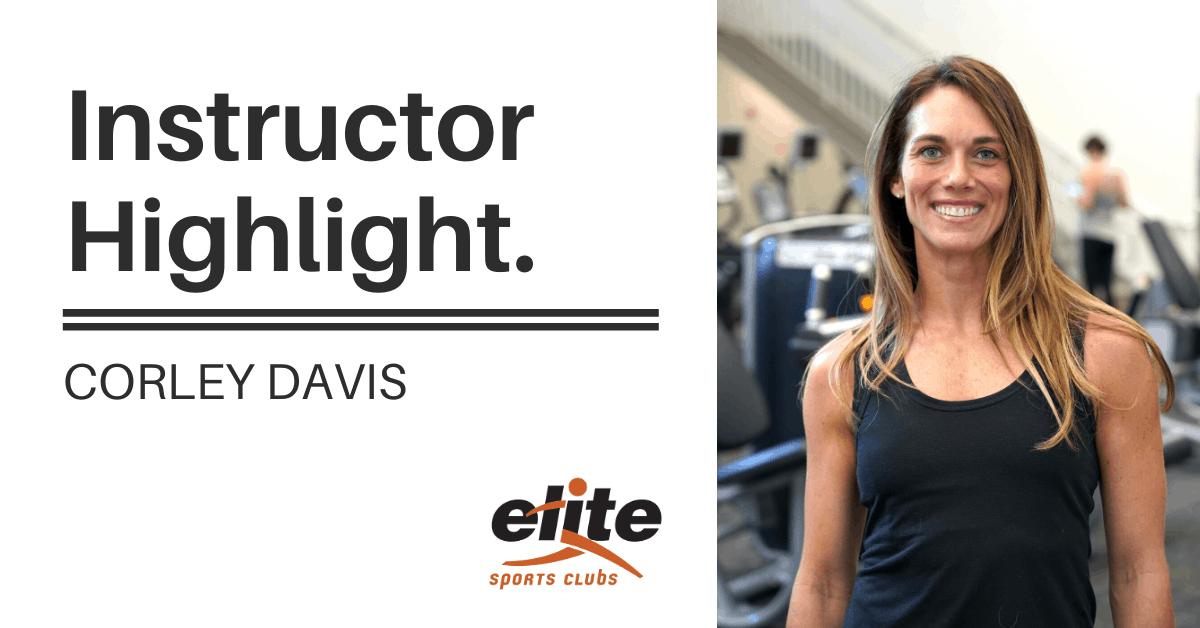 Instructor Highlight - Corley Davis