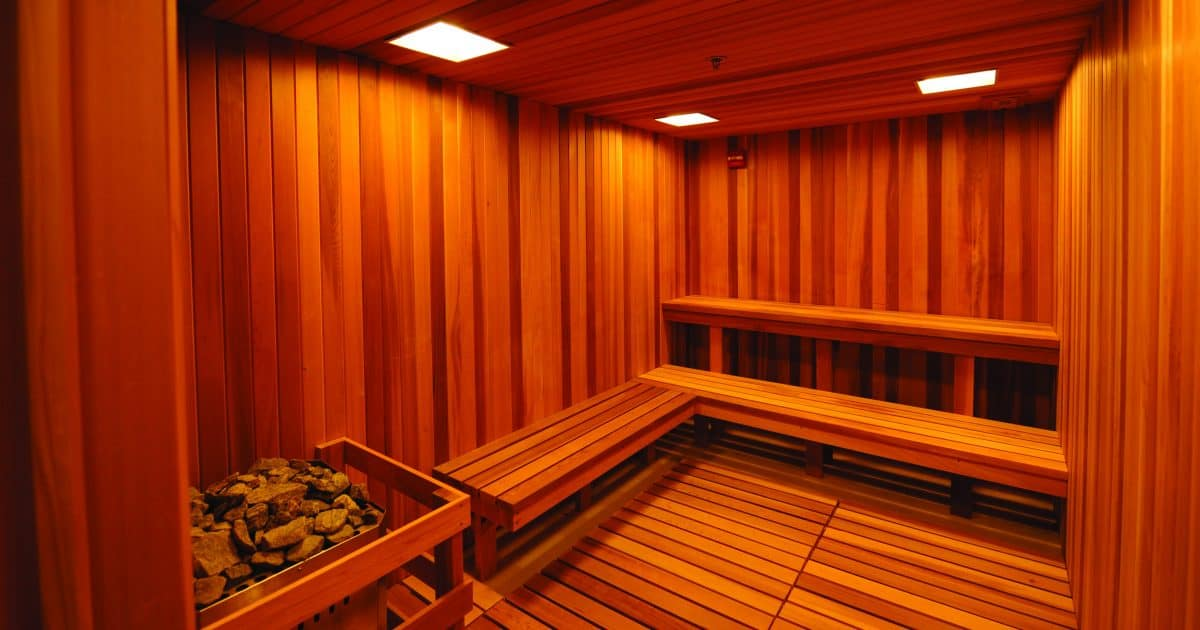Elite Sports Clubs Sauna and Steam Room
