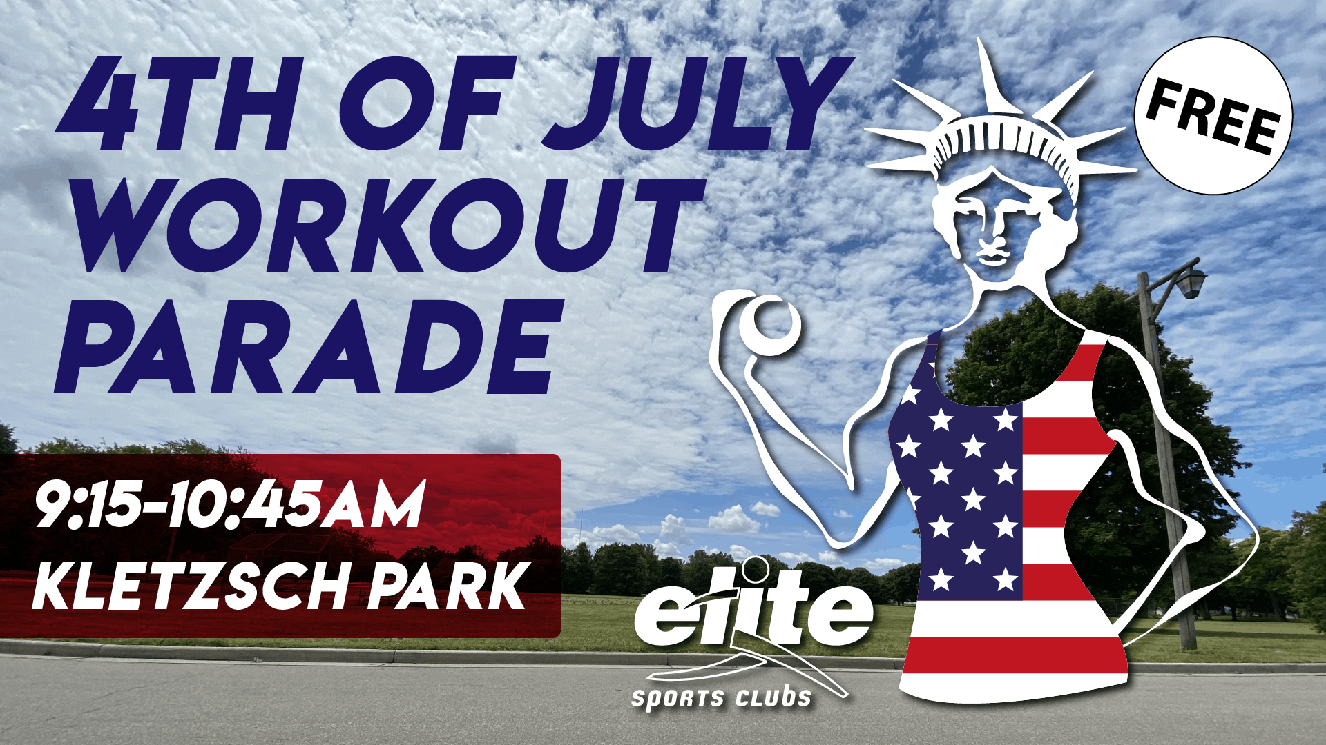 4th of July Workout Parade at Elite Sports Clubs