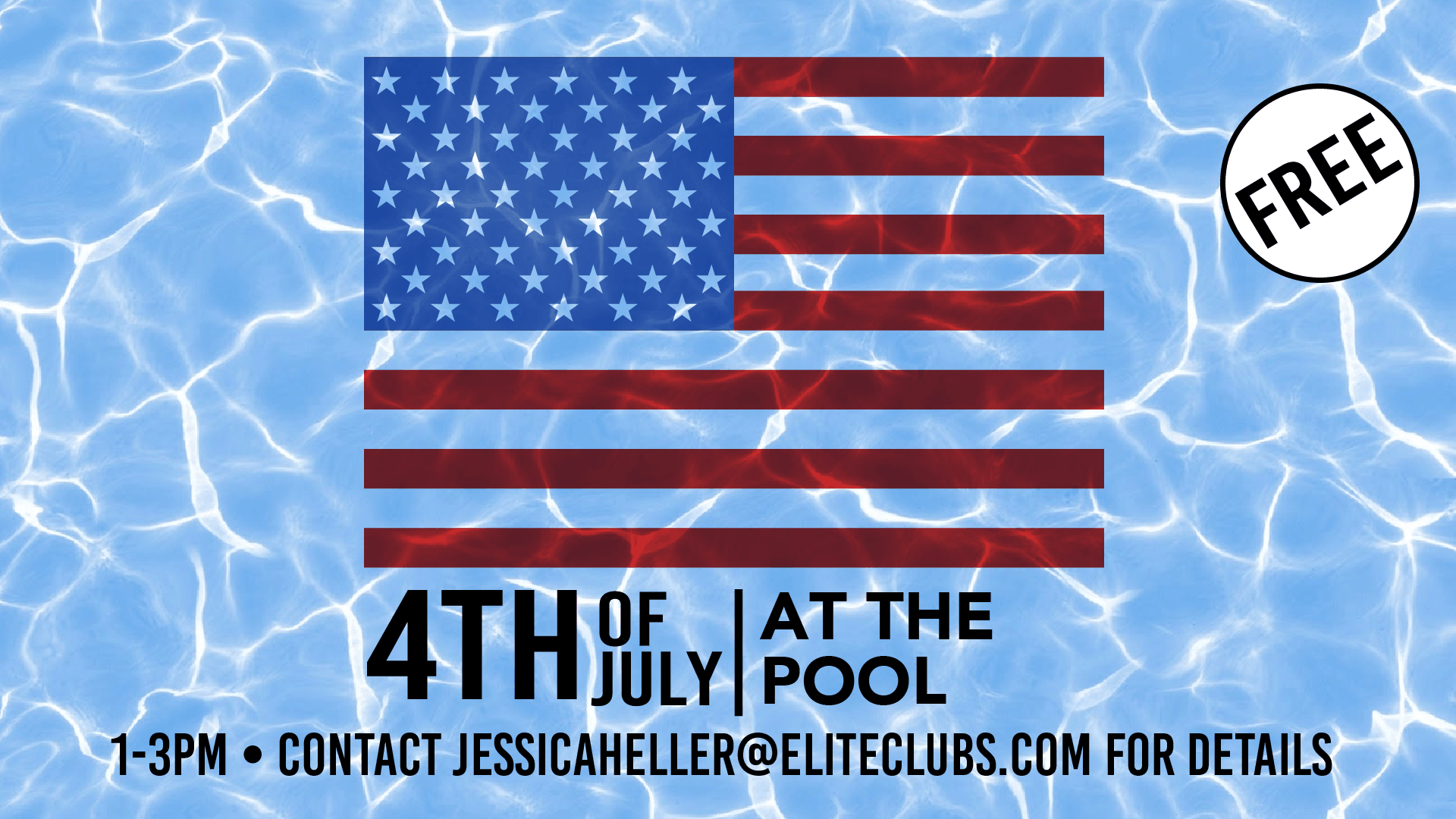 4th of July at the Mequon Pool
