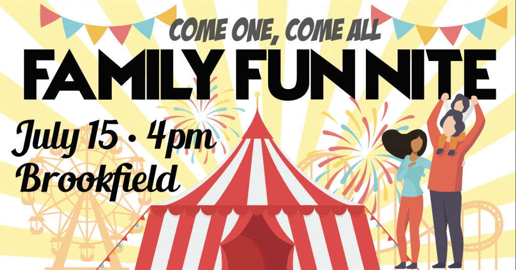 Family Fun Nite July 2020 at Elite Brookfield