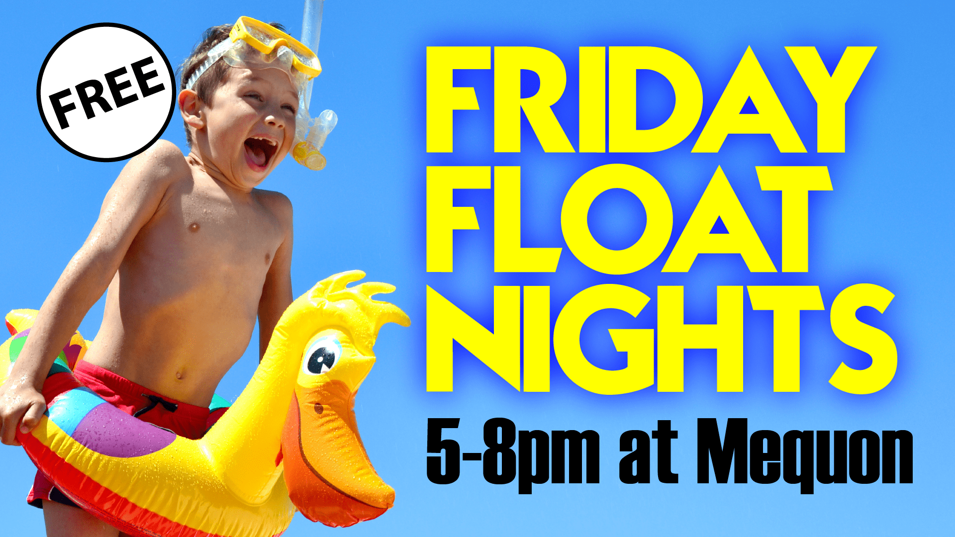 Friday Float Nights - Elite Mequon Summer 2020