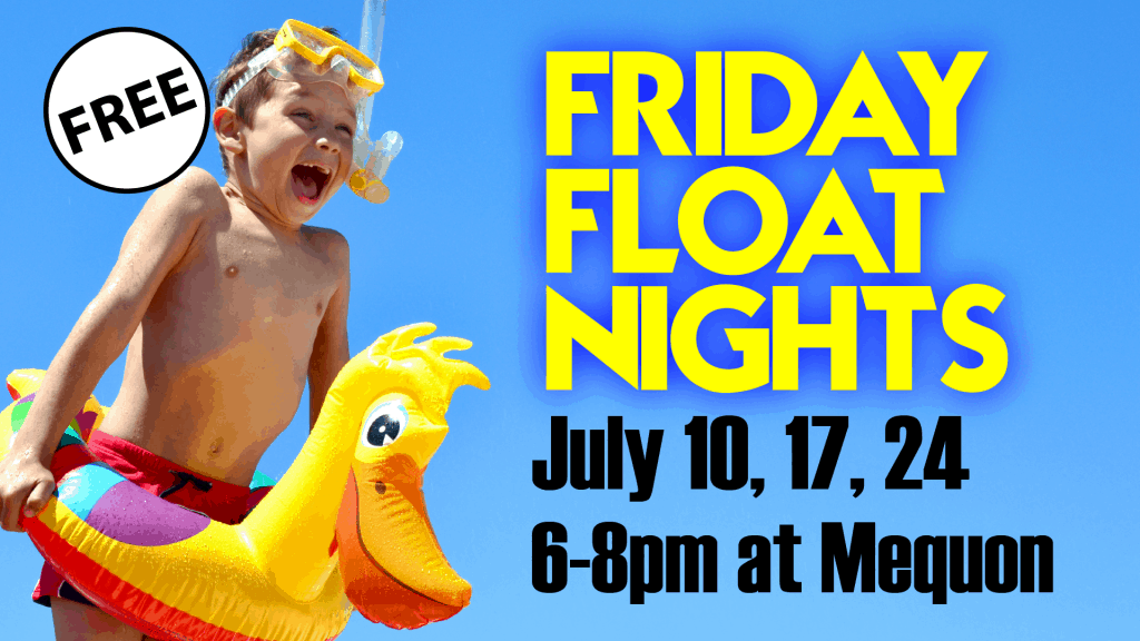 Friday Float Nights at Elite Mequon - Summer 2020