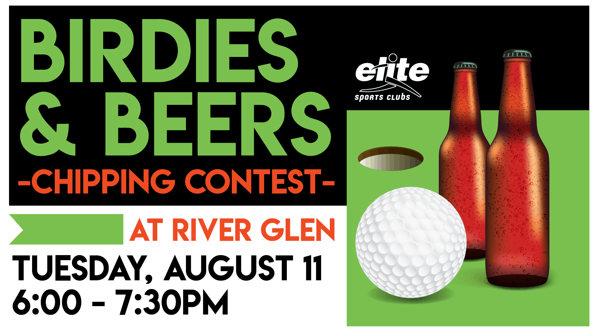Birdies Beers - Elite River Glen August 2020