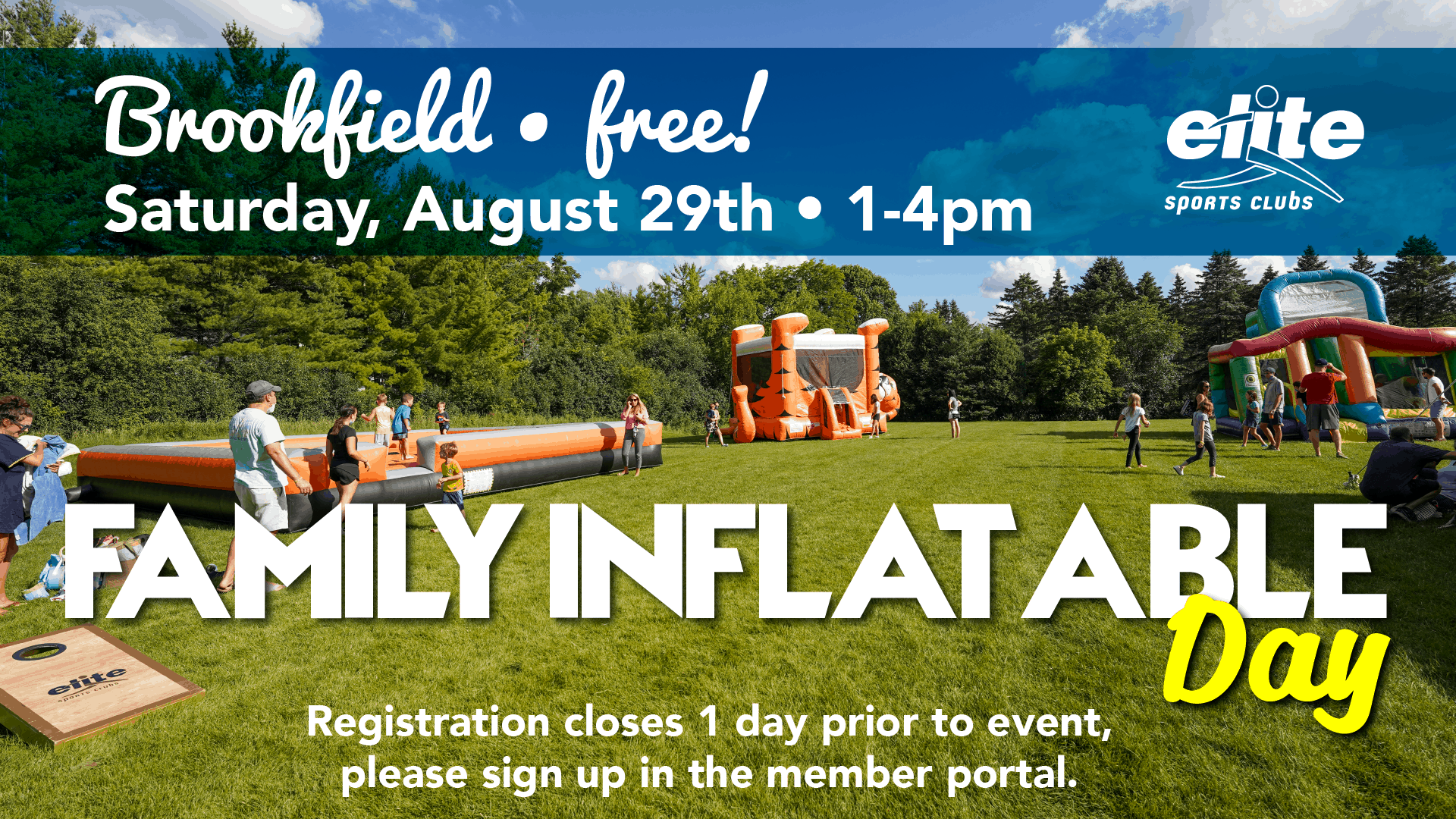 Family Inflatable Day - Elite Brookfield - August 2020