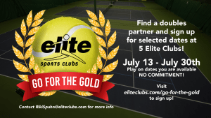 Go for the Gold Tennis Flex League - Summer 2020