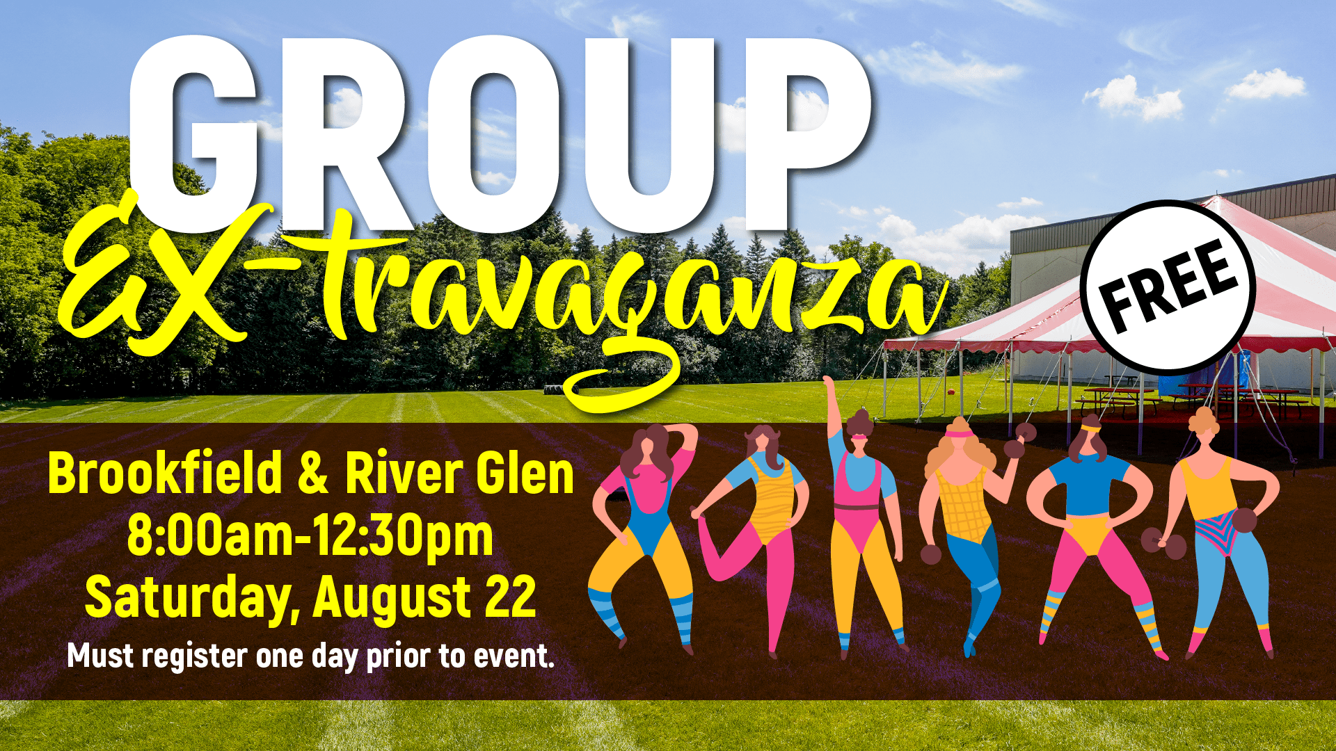 Group Ex-travaganza - Elite River Glen and Brookfield - August 2020