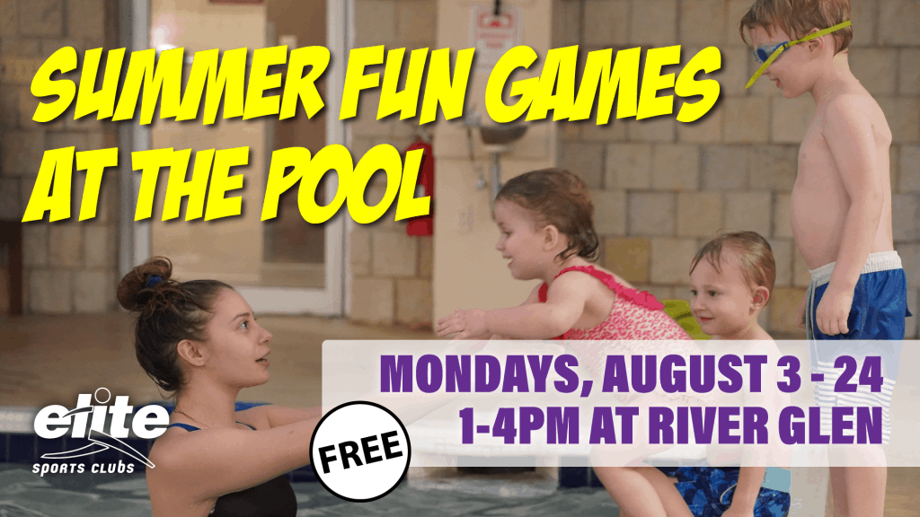 Summer Fun and Games at the Pool - Elite River Glen August 2020