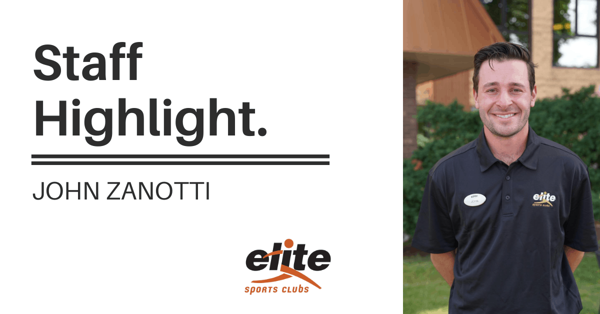 Staff Highlight - John Zanotti
