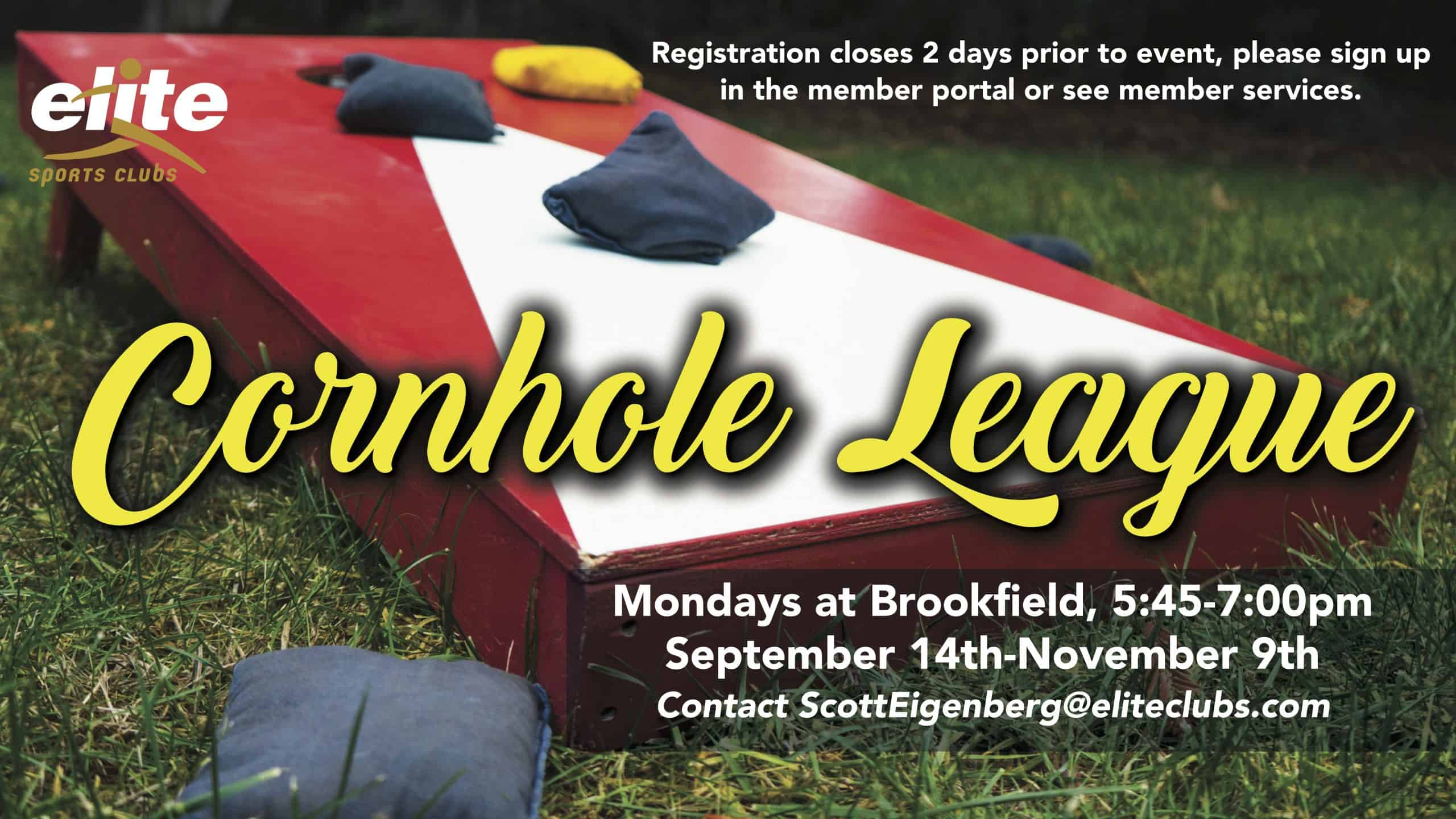 Cornhole League - Elite Brookfield - September 2020