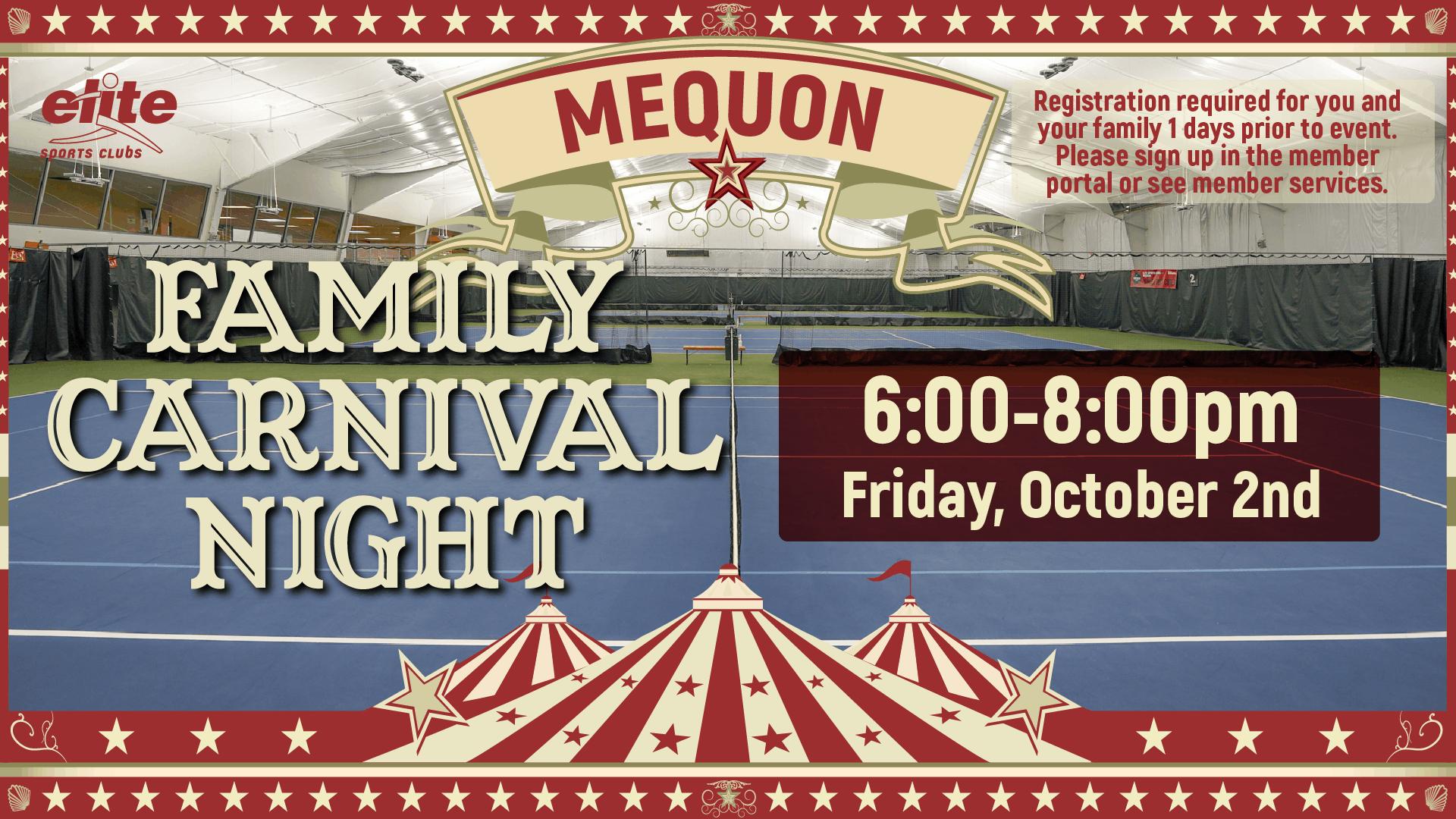Family Carnival - Elite Mequon - October 2020