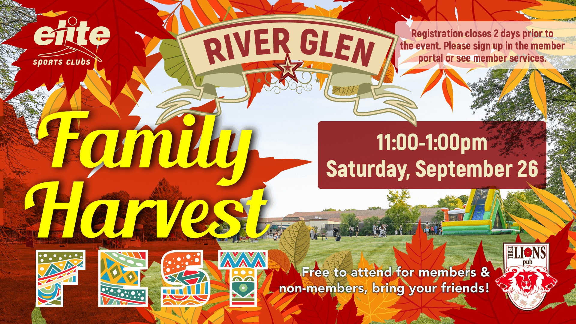 Family Harvest Fest - Elite River Glen - September 2020