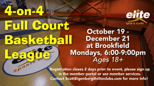 Full Court Basketball League - Elite Brookfield - Fall 2020