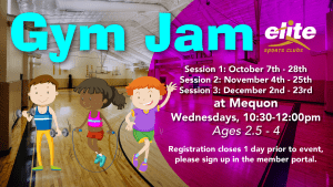 Gym Jam - Elite Mequon - Fall 2020
