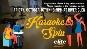 Karaoke Spin - Elite River Glen - October 2020