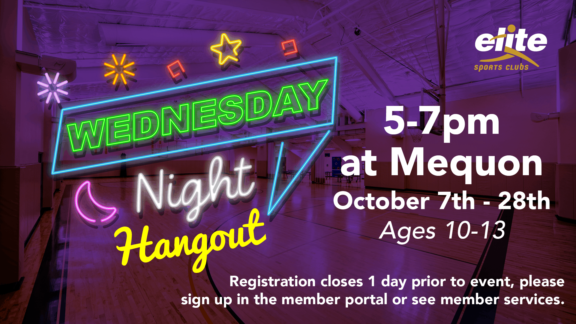 Wednesday Night Hangout - Elite Mequon - October 2020