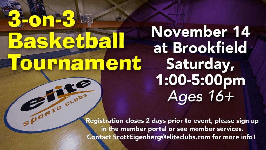 Basketball Tournament - Elite Brookfield - November 2020