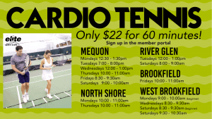 Cardio Tennis - Elite Sports Clubs - 2020-2021