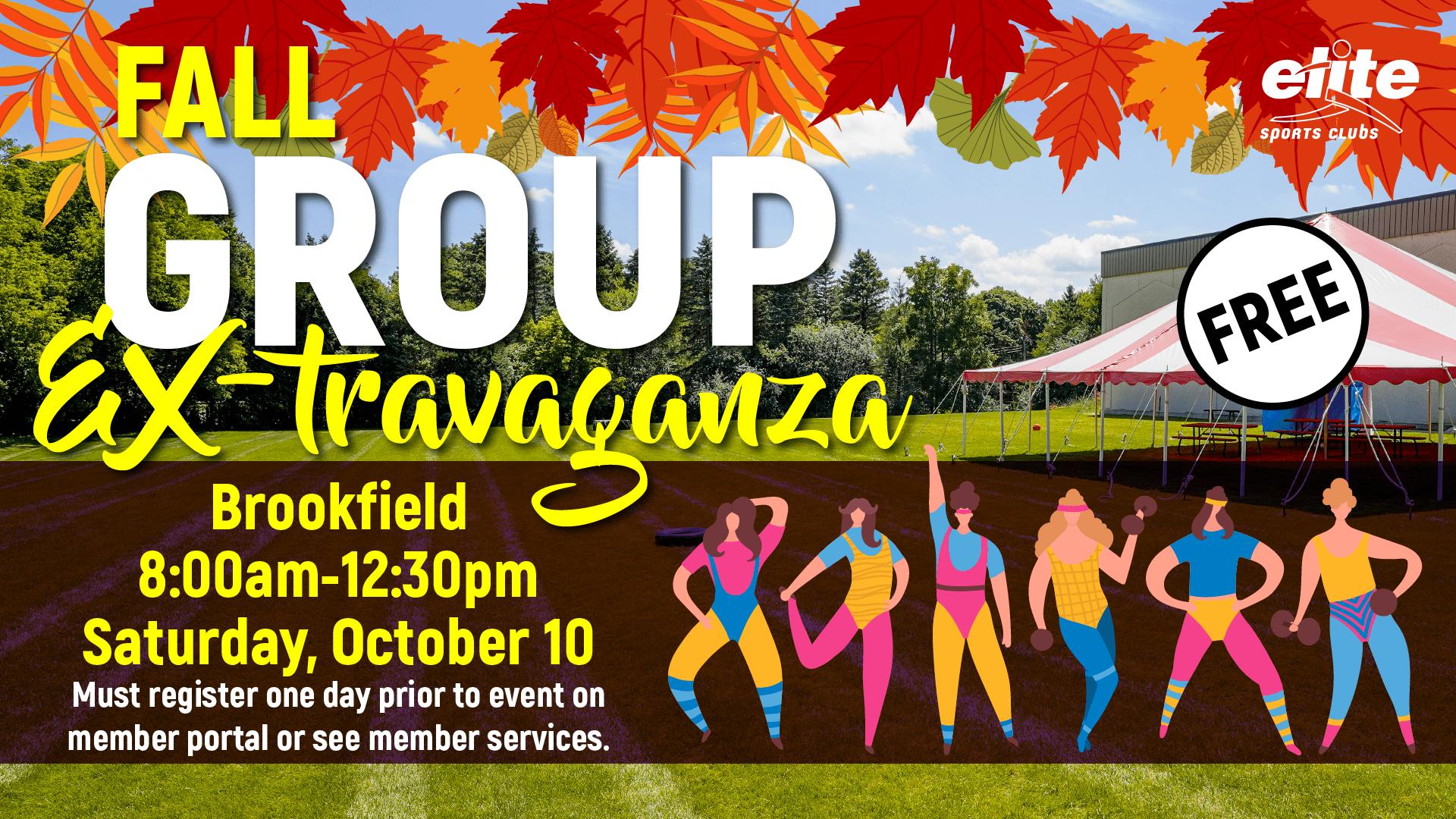 Group Ex-travaganza - Elite Brookfield - October 2020