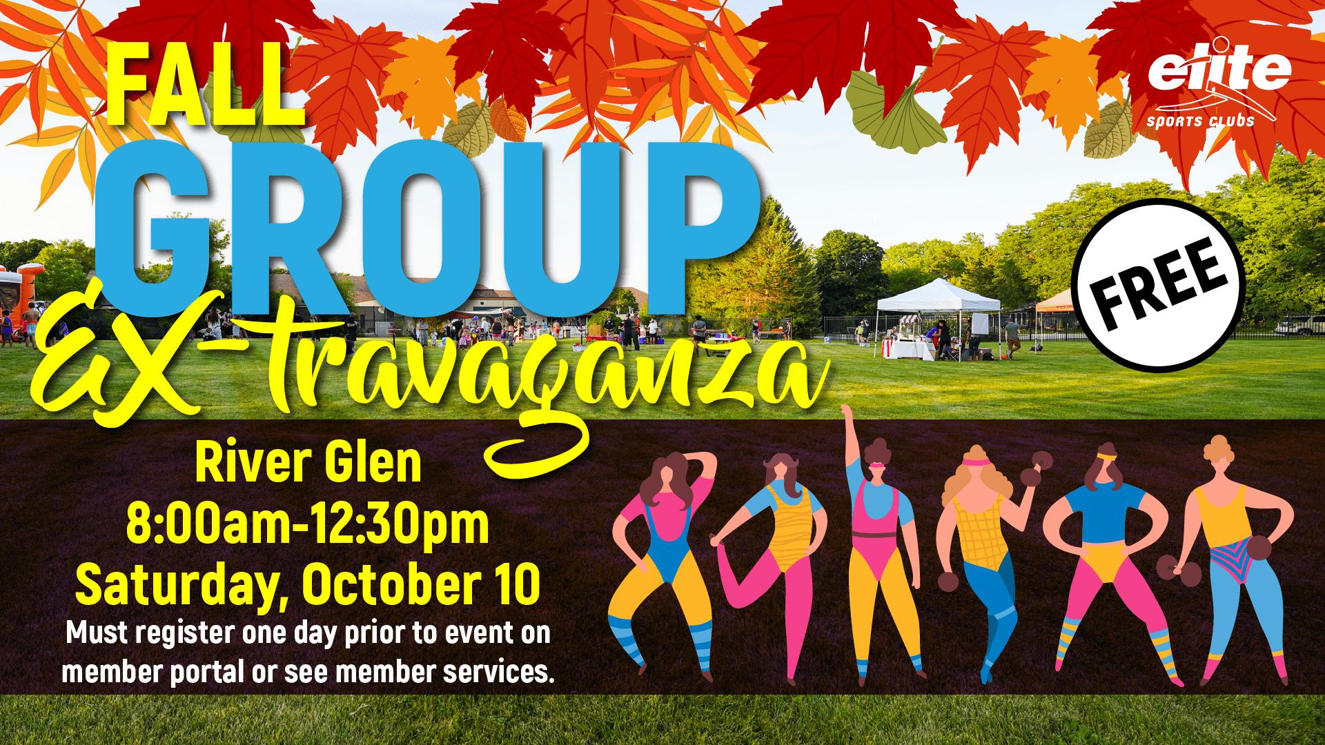 Group Ex-travaganza - Elite River Glen - October 2020
