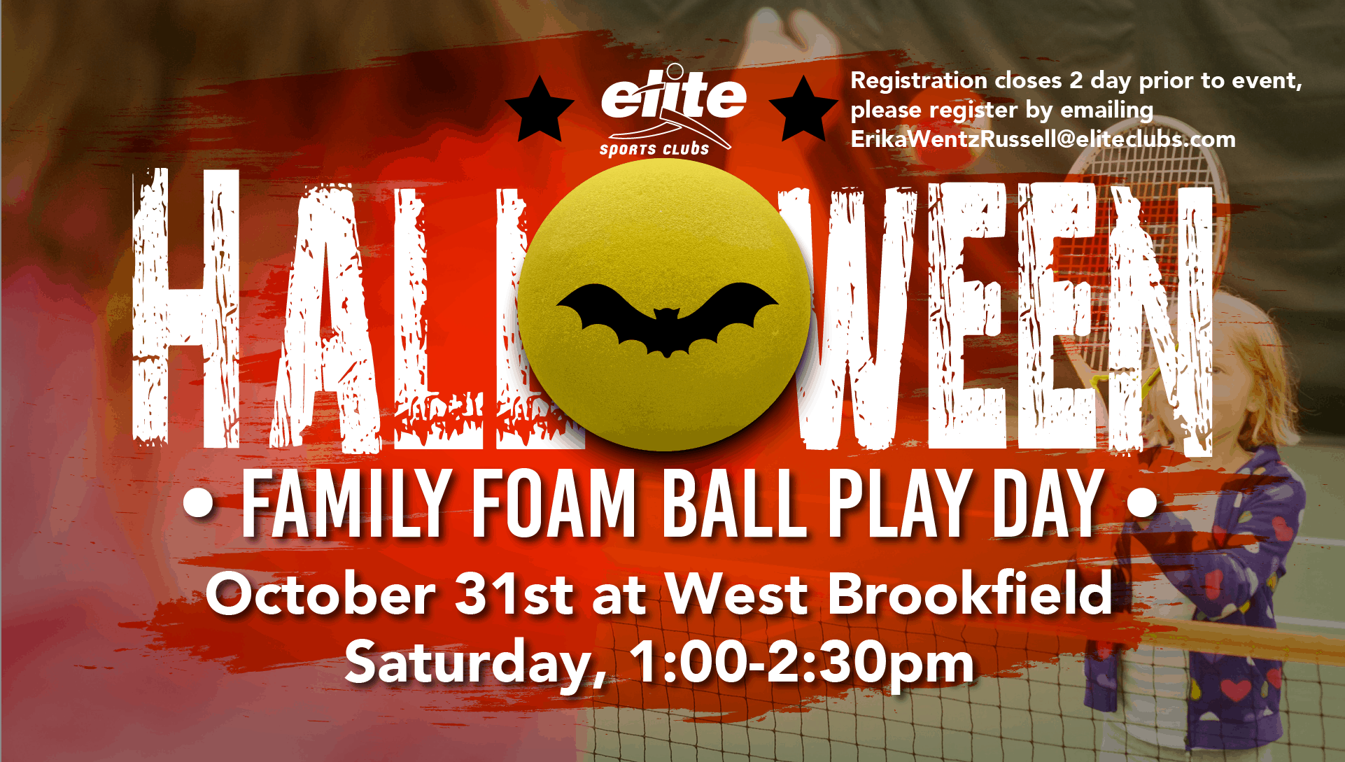 Halloween Family Foam Ball Play Day - Elite West Brookfield - October 2020