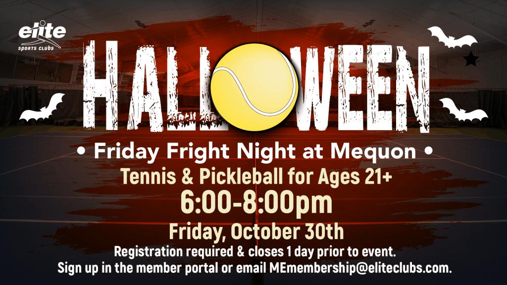 Halloween Friday Fright Night - Elite Mequon - October 2020