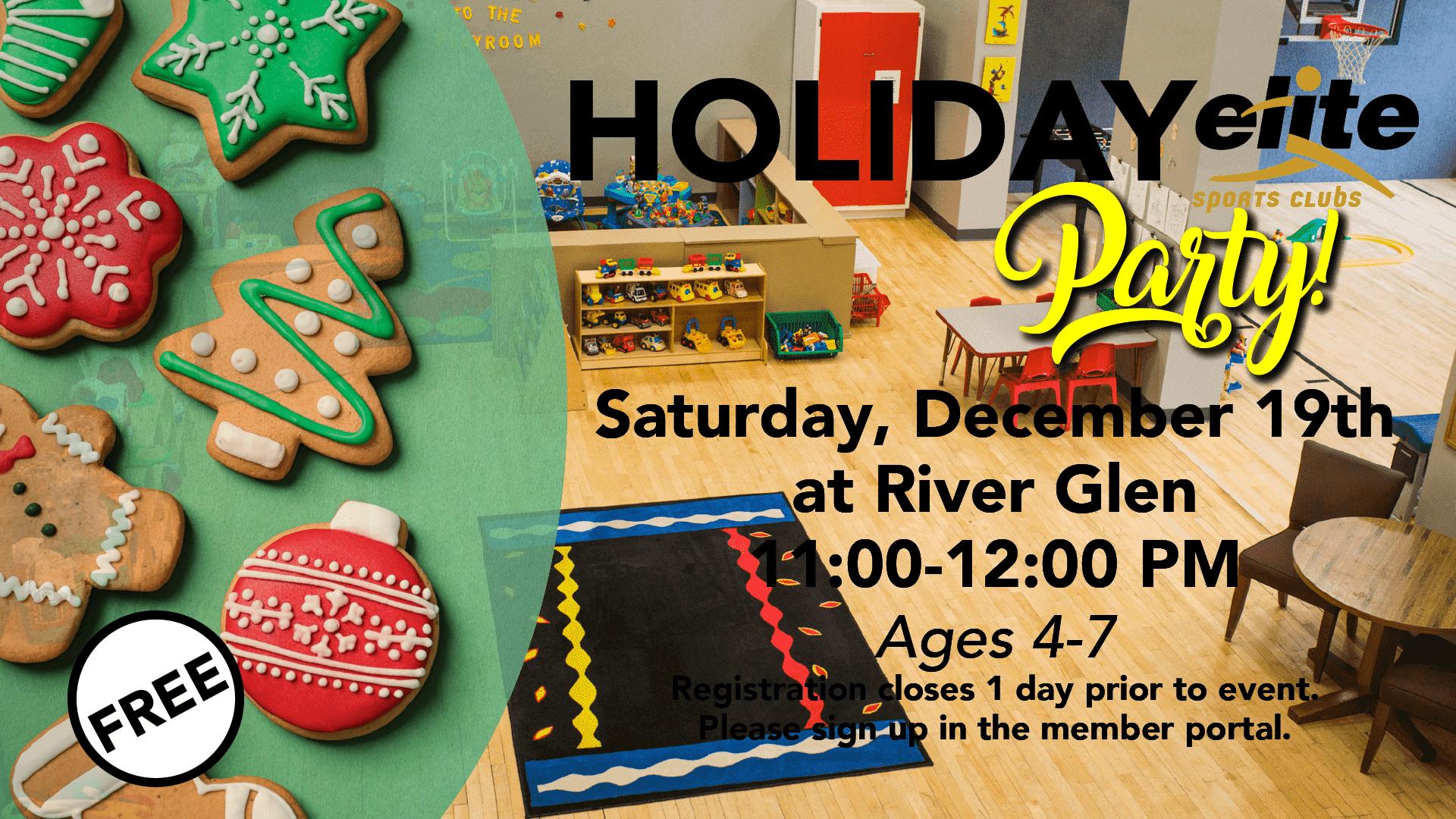 Holiday Party - Elite River Glen - December 2020