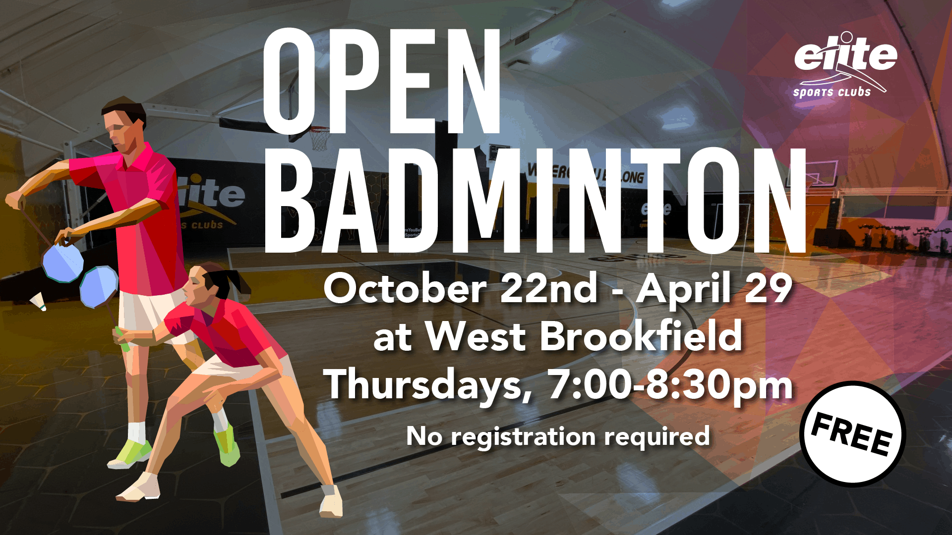 Open Badminton - Elite West Brookfield - 2020-2021