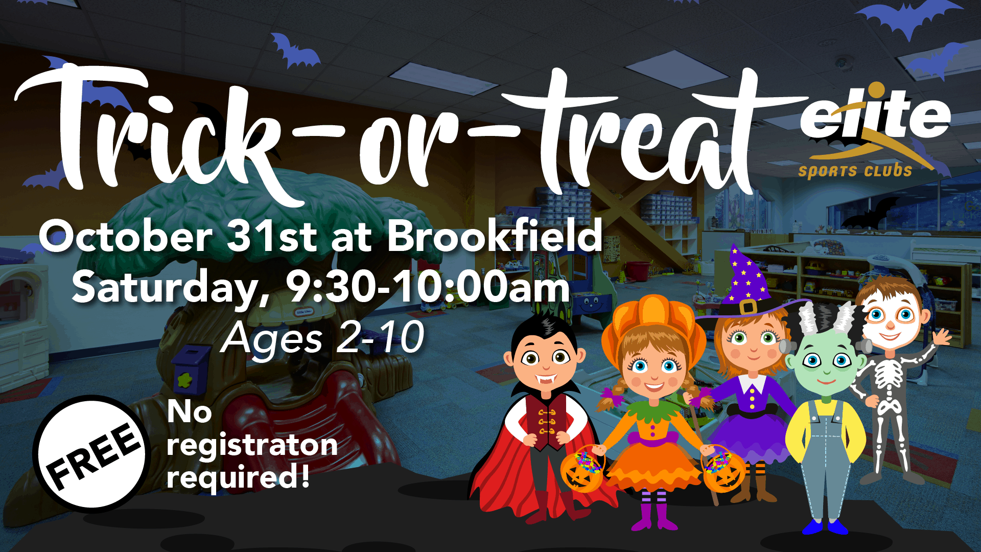 Trick or Treat - Elite Brookfield - October 2020