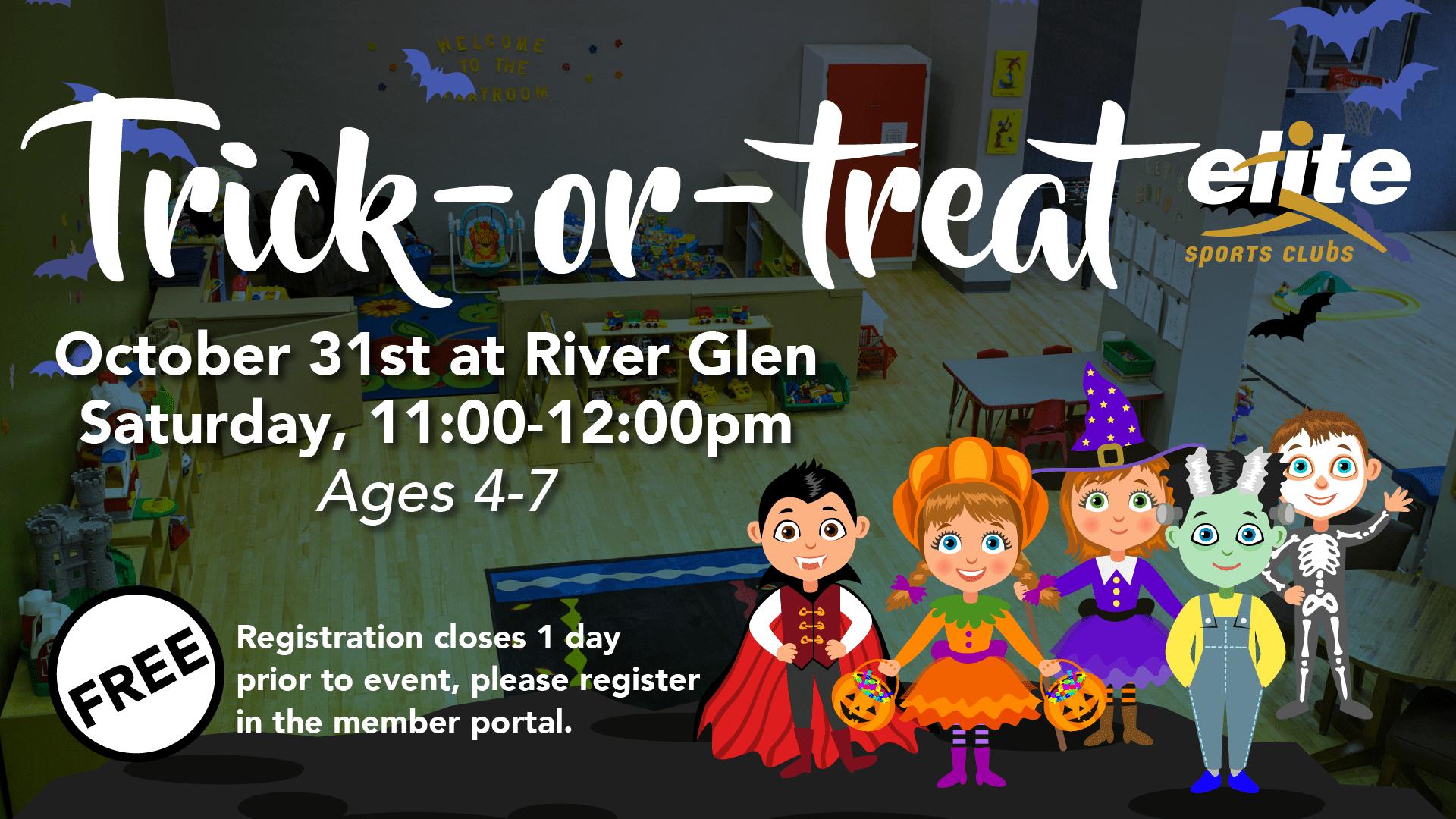 Trick or Treat - Elite River Glen - October 2020