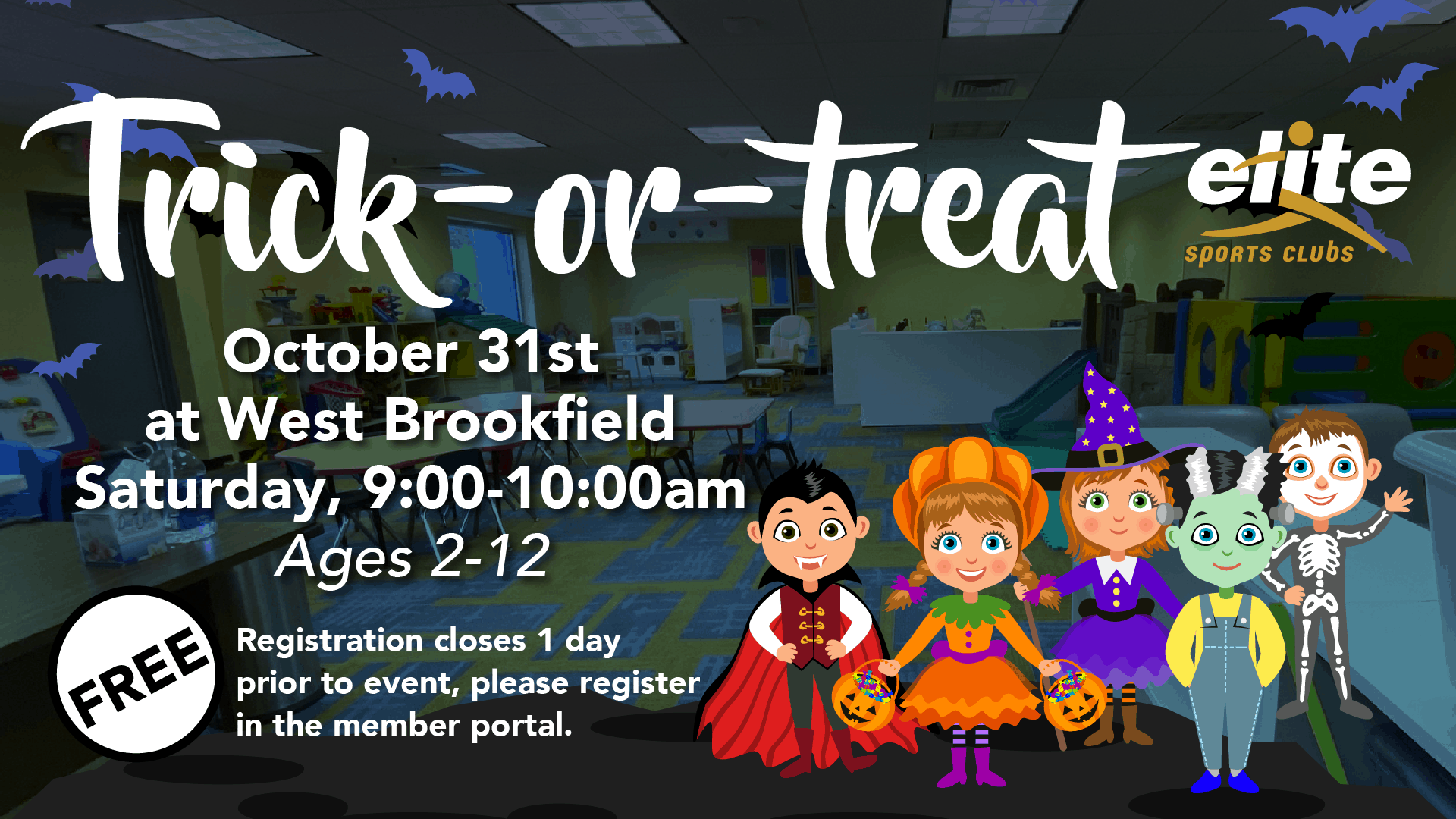 Trick or Treat - Elite West Brookfield - October 2020