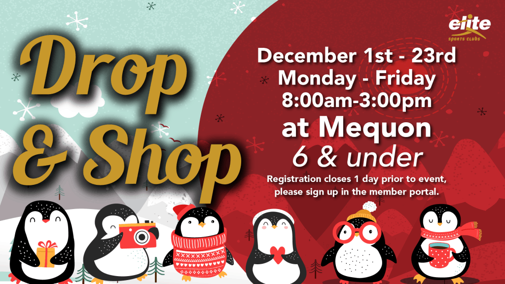 Drop and Shop - Elite Mequon - December 2020