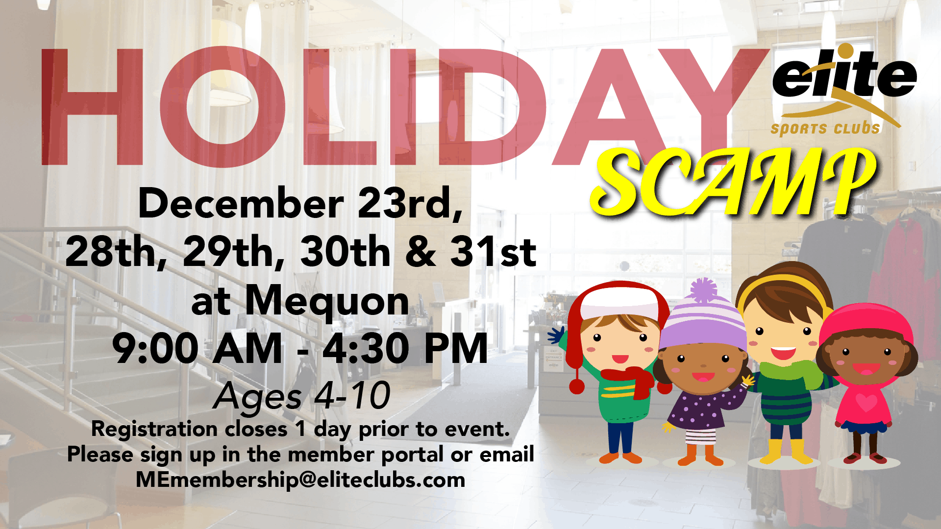 Holiday SCAMP - Elite Mequon - December 2020
