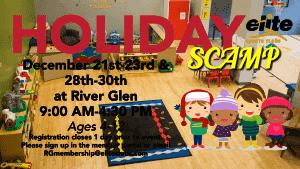 Holiday SCAMP - Elite River Glen - December 2020