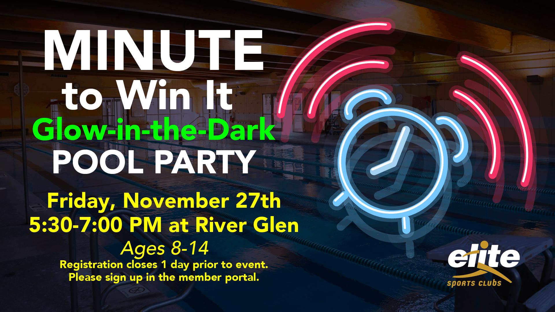 Minute to Win It - Elite River Glen - November 2020