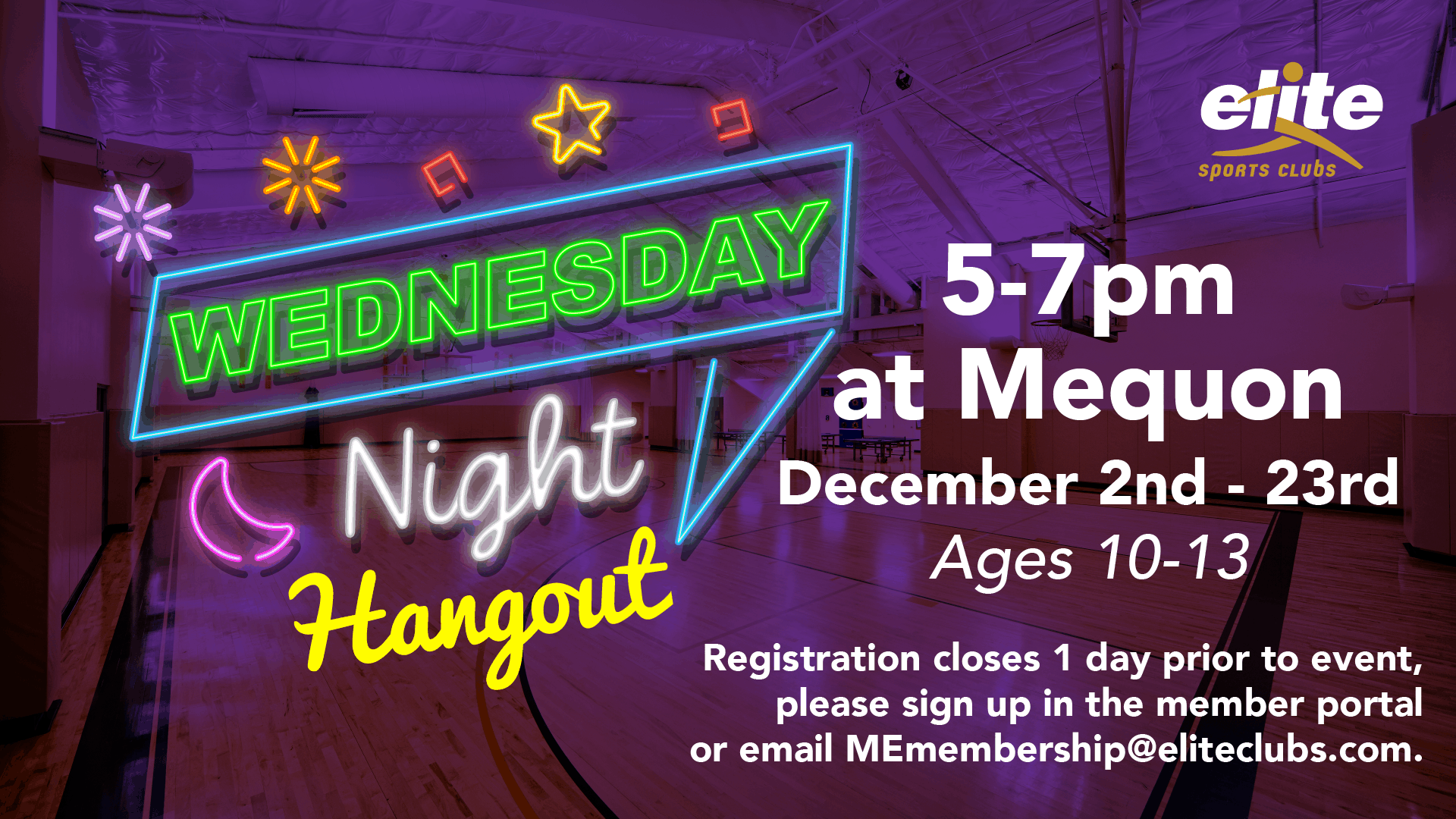 Wednesday Night Hangout - Elite Mequon - December 2020