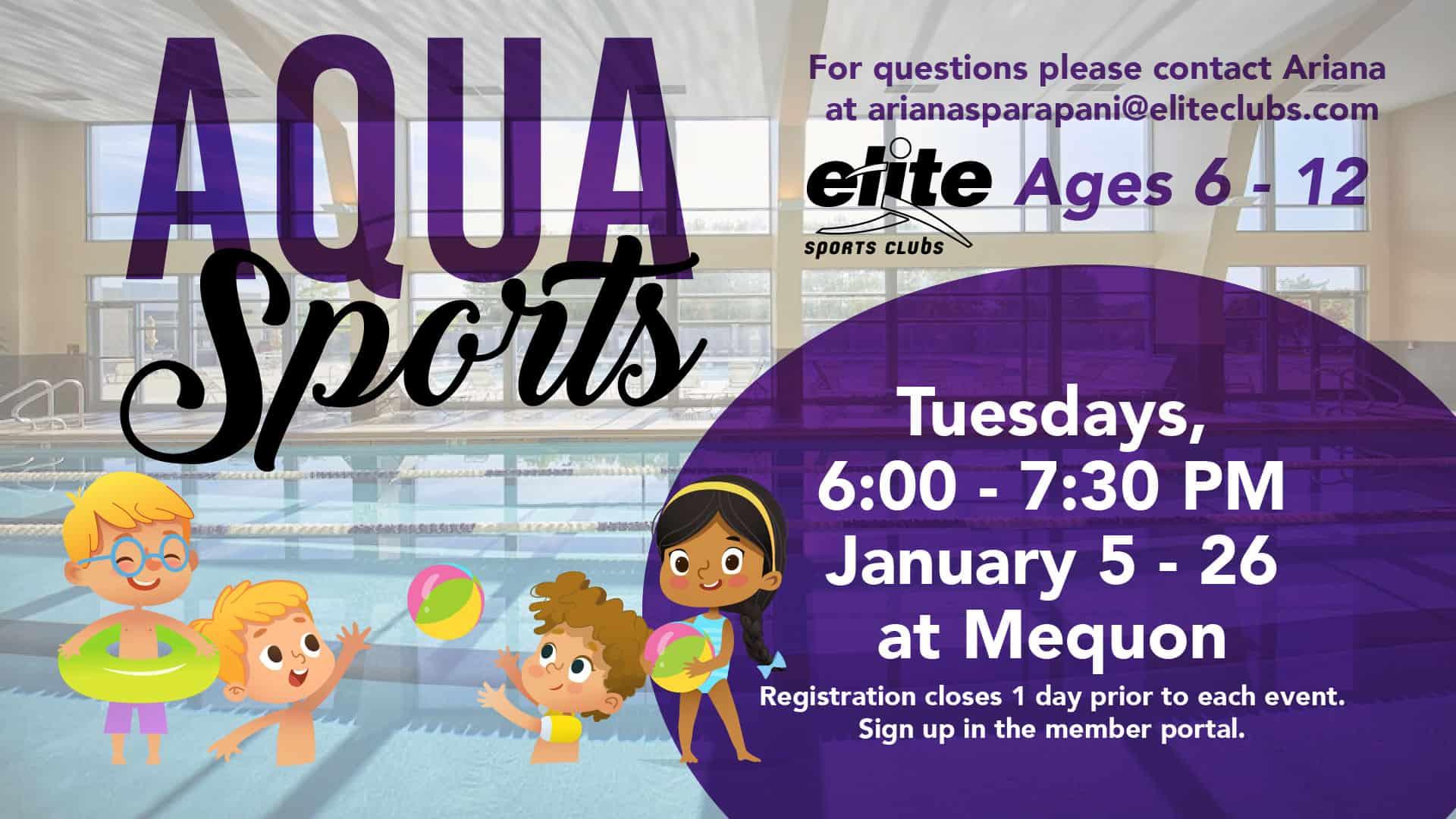 Aqua Sports - Elite Mequon - January 2021