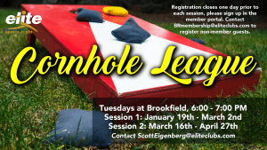 Cornhole League - Elite Brookfield - Winter:Spring 2020