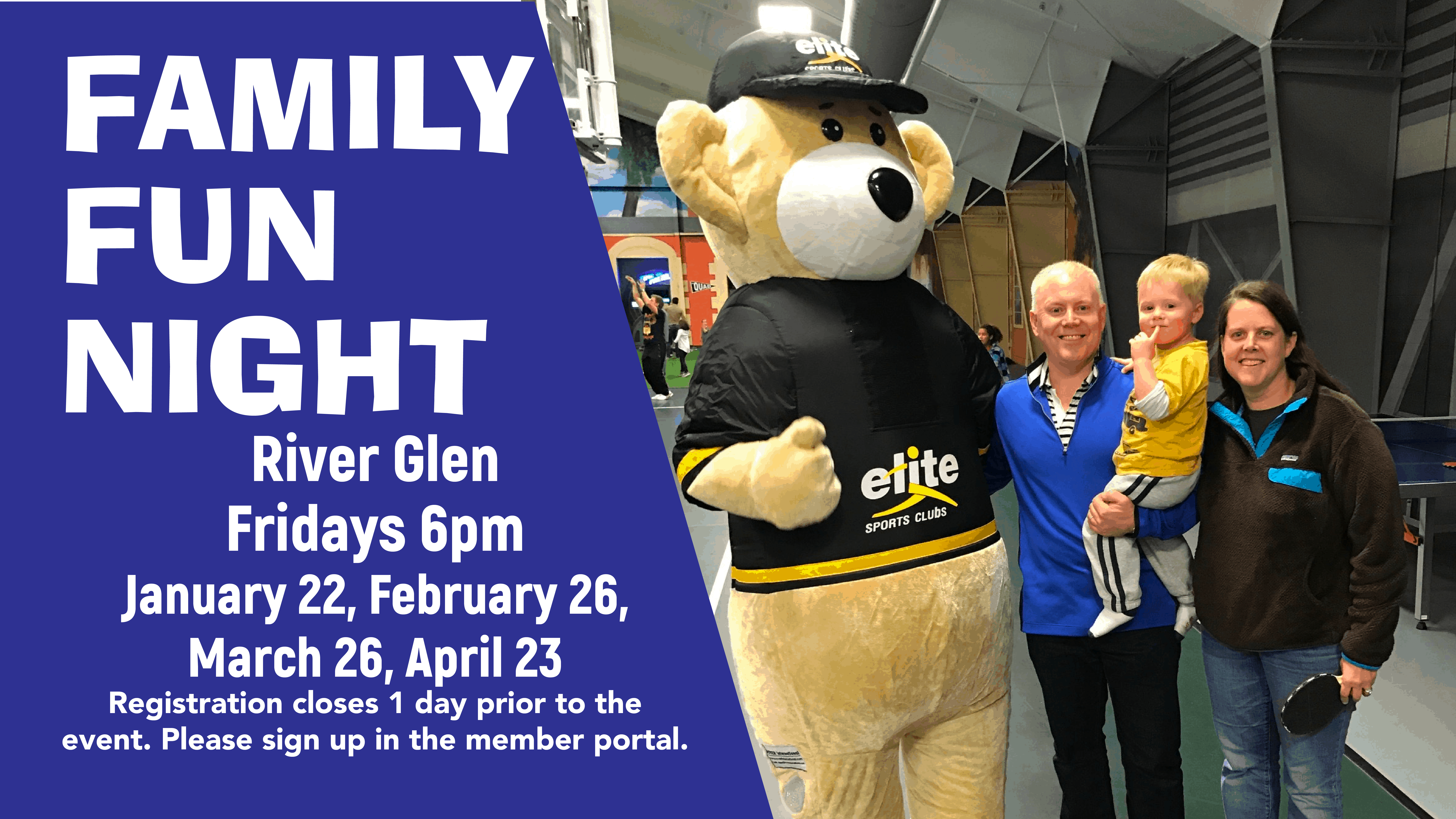 Family Fun Night - Elite River Glen - Winter 2021