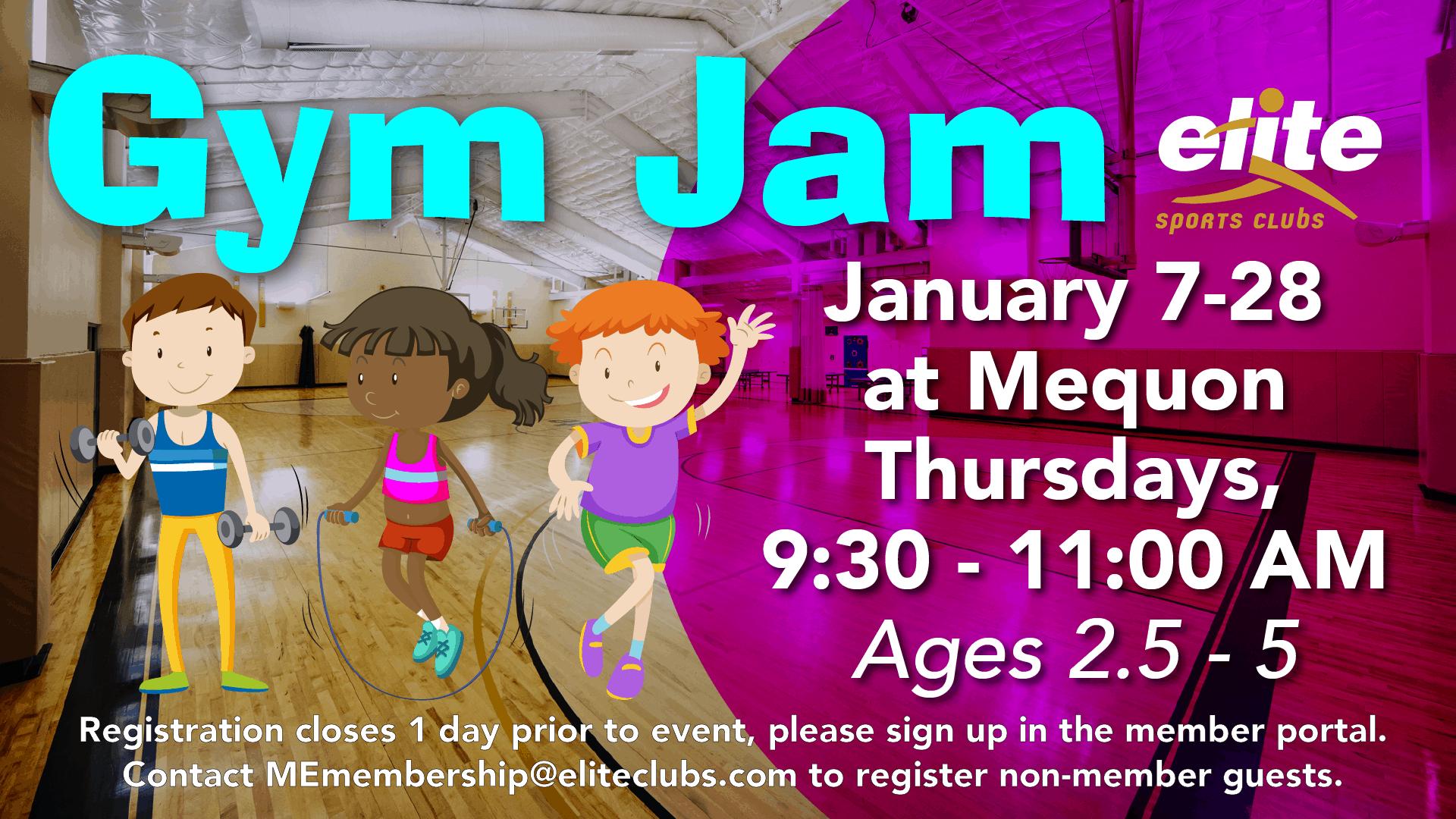 Gym Jam - Elite Mequon - January 2021