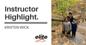 Instructor Highlight - Kristen Wick