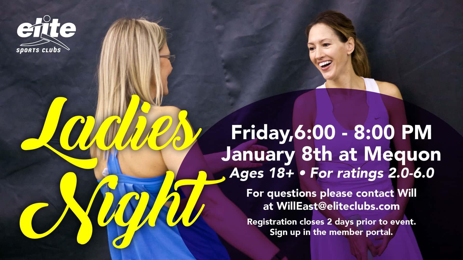 Ladies Night - Elite Mequon - January 2021