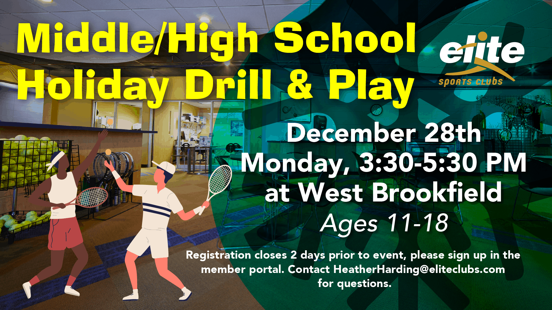 Middle High School Holiday Drill & Play - Elite West Brookfield - December 2020