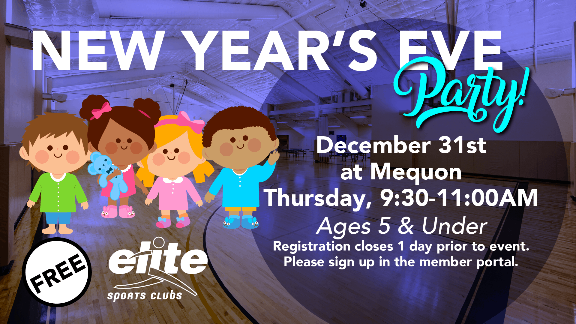 New Years Eve Party - Elite Mequon - December 2020