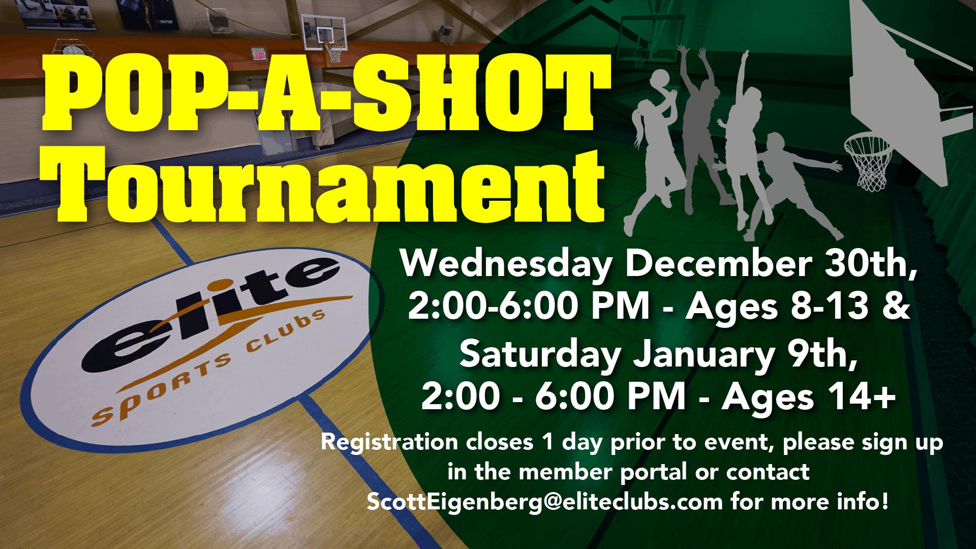 Pop-a-Shot Tournament - Elite Brookfield - Winter 2020