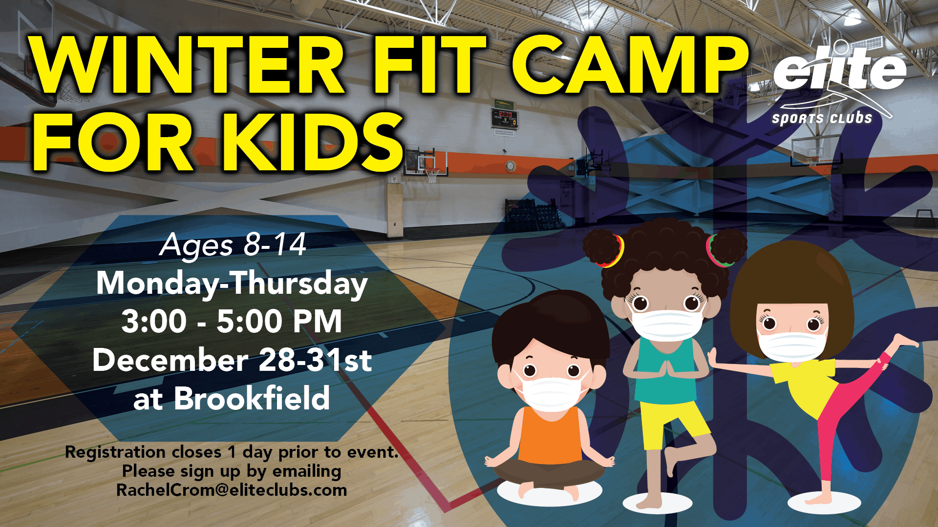 Winter Fit Camp for Kids - Elite Brookfield - December 2020