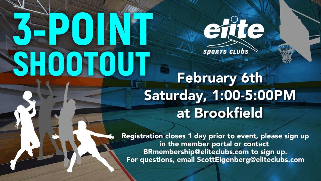3 Point Shootout - Elite Brookfield - February 2021