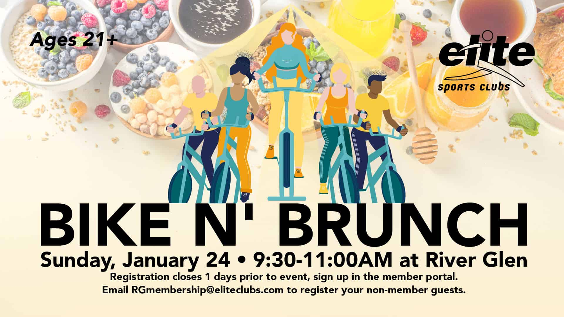 Bike Brunch - Elite River Glen - January 2021